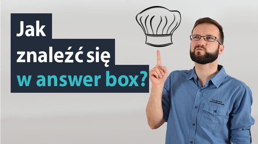 Jak znaleźć się w answer box MrOptim #22